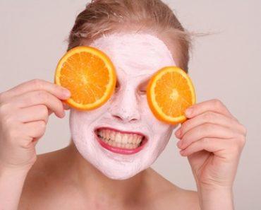 Masques préparés avec de jus de citron