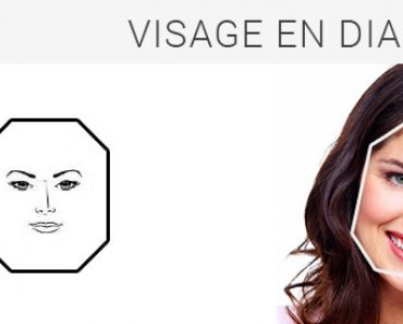 Visage de type diamant