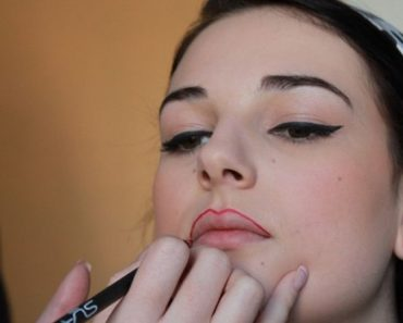 Tracé de la lèvre